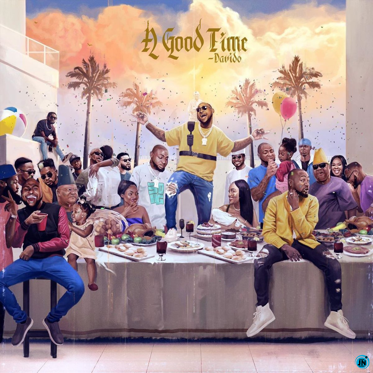 Image result for a good time by davido